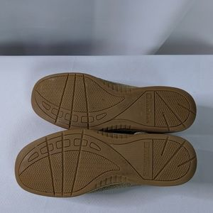 Sperry Shoes - Sperry Top-Sider Leather & Canvas Loafers Size 9